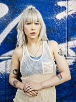 Dee Dee of the dum dum girls